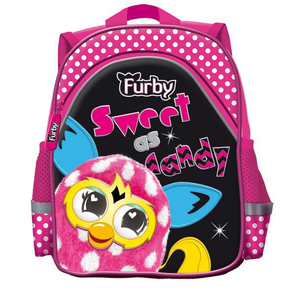 Школьный рюкзак с рисунком ферби