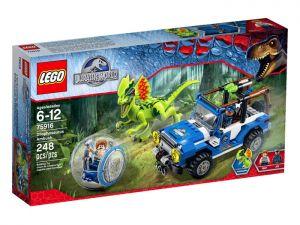 Klocki Lego Jurassic World Zasadzka Dilofozaura 75916