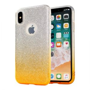 Back Case BLING - Apple Iphone X Złoty