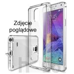 Futerał Back Case Mercury Clear Jelly Samsung Galaxy Note 4 n910